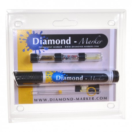 Diamond-Marker® Kit, negro