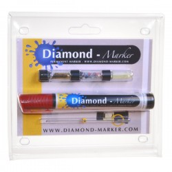 Diamond-Marker® Kit, rot