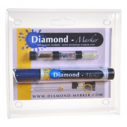 Diamond-Marker® Kit, blau